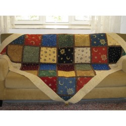 Throw Patchwork Diagonal