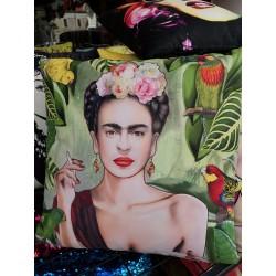 Frida Dijital Baskılı Yastık Kılıfı